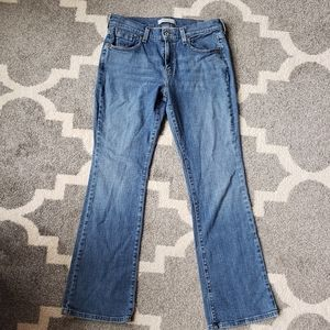 Levi's 515 Bootcut Mid-Rise Jeans. Size 8
